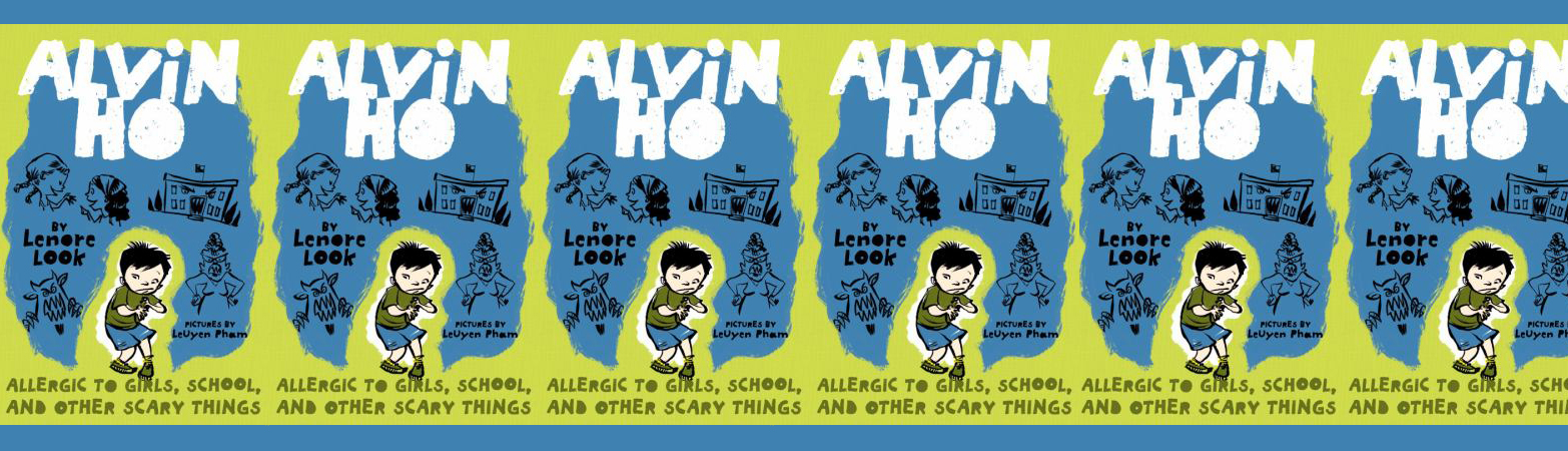 Alvin Ho Allergic to Girls, School and other scary things cover art