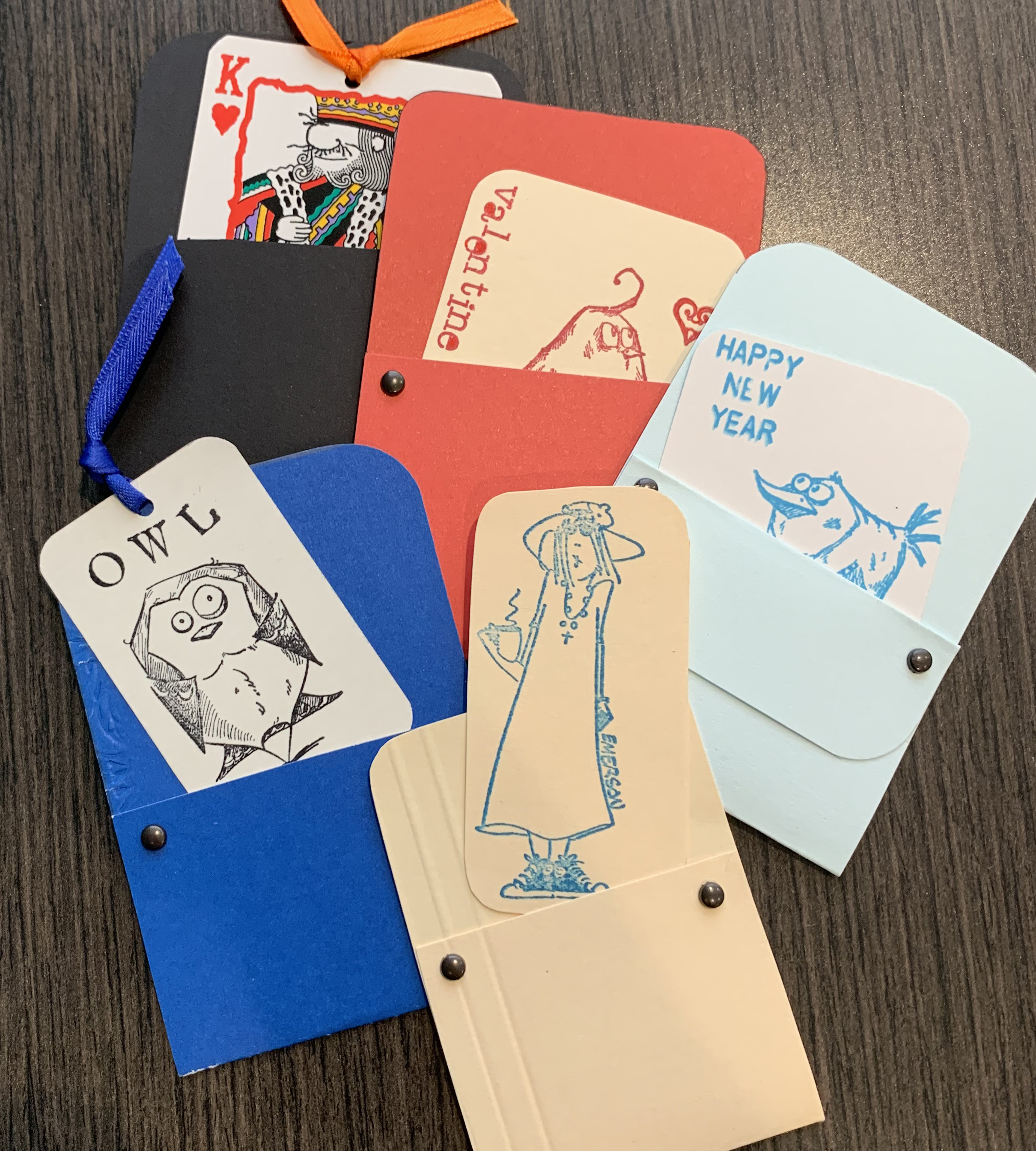 Make It: Paper Folded Bookmarks with Pockets (YouTube Premiere)