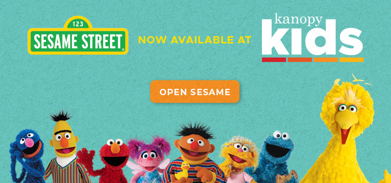 Sesame Street on Kanopy