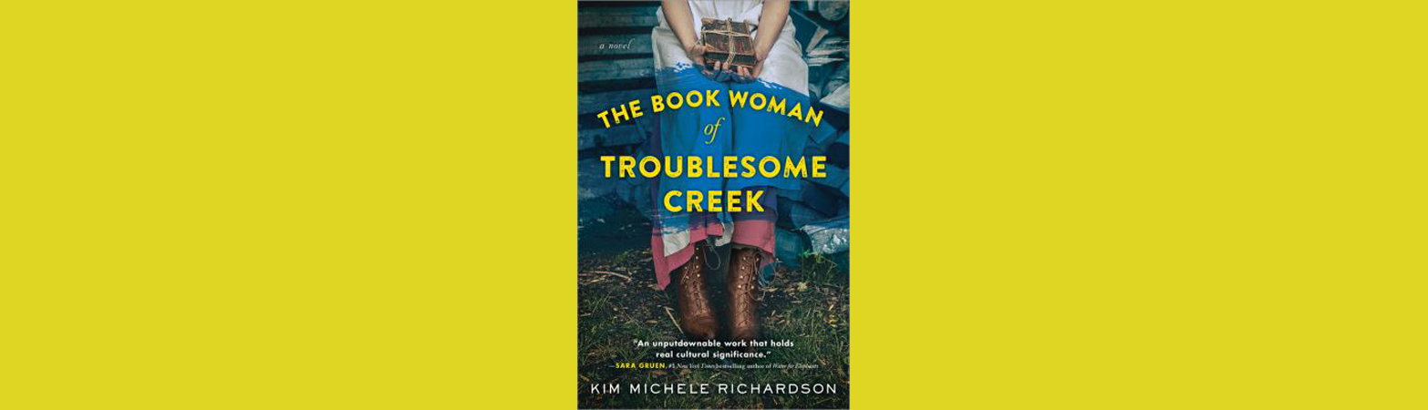 The book woman of troublesome creek cover art