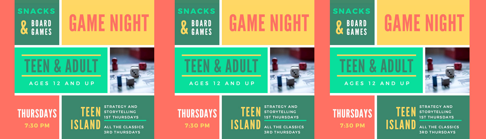 Teen and Adult Game Night