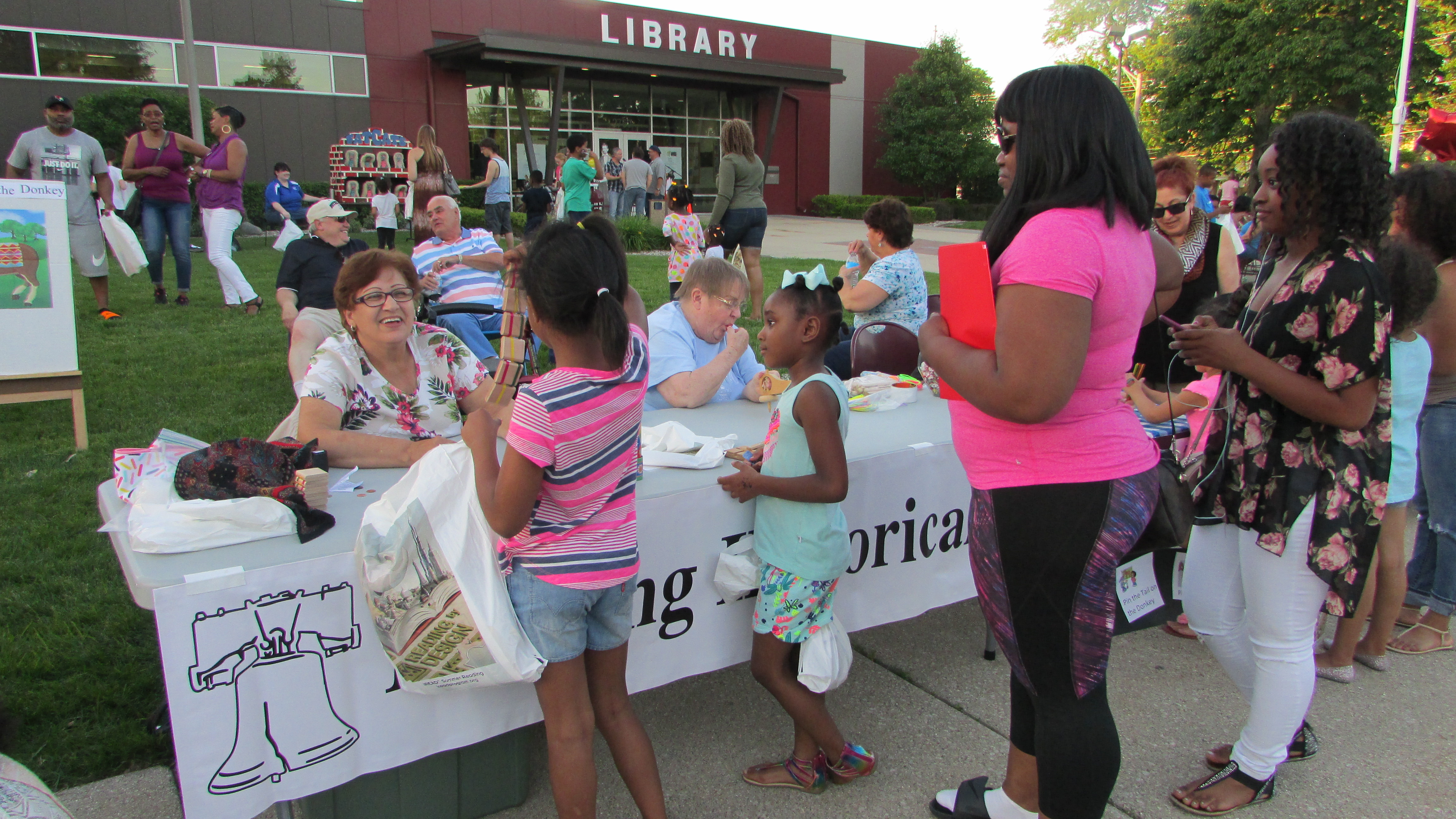 Library Block Party