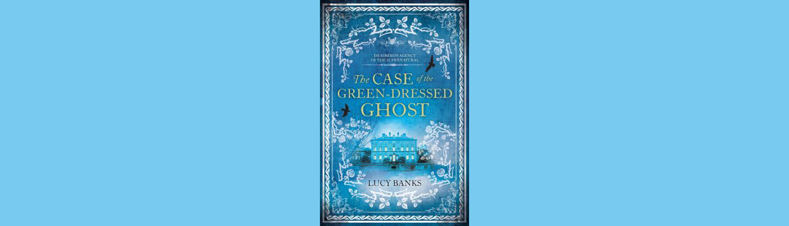 The Case of the Green-Dressed Ghost cover art