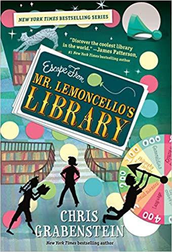 Escape from Mr. Lemoncello's Library cover art