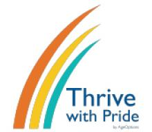 Thrive with Pride logo