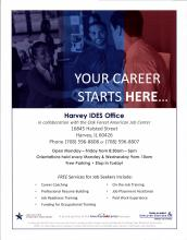 Harvey IDES Office flyer